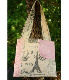 Tutorial: Summer Bag with lots of pockets, including a secret pocket