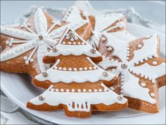 Beautiful Christmas biscuits