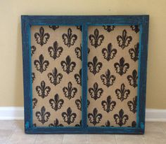 Old Decorative Window with hooks by MadnessMomma on Etsy, $45.00