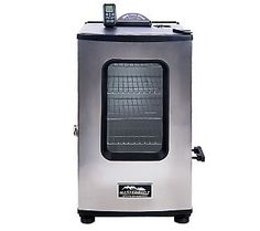 Masterbuilt Stainless Steel 4 Rack Digital Smoker with Remote