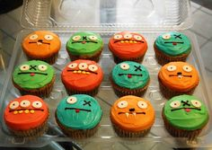 ugly doll cupcakes