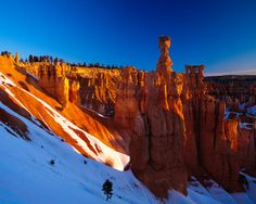 Thor's Hammer, Bryce Canyon National Park, Utah, USA (by Xindaan)