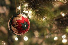 No sew Christmas ornament~