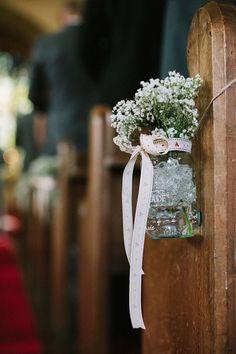 Claire Pettibone's Larissa for a Delightful Homemade, DIY Wedding in the Countryside...