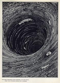 Harry Clarke illustration for Edgar Allan Poe