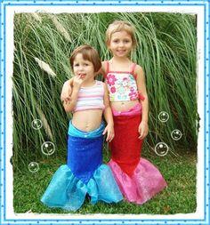 Mermaid tail tutorial