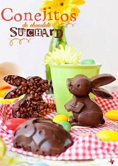 Conejitos de chocolate Suchard ( Turrón de Suchard casero)