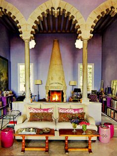 Lavender Walls!
