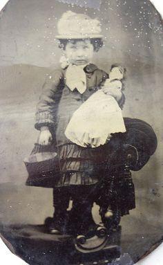 1800-Sweet little girl.. Love her doll too