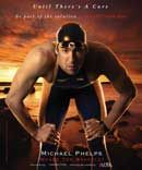 Until There's A Cure ... Be part of the solution ... End HIV/AIDS Now  Michael Phelps wears The Bracelet  until.org