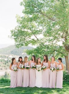 pale pink Bridesmaid dresses   Photography By / sarahasstedt.com, Floral Design By / lauryllane.com