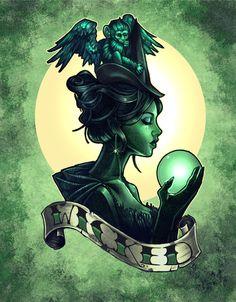 tim shumat, tattoos, art prints, a tattoo, artist, disney, wizard of oz, halloween, wicked