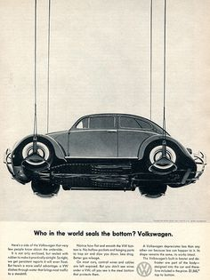 1960 Volkswagen Advertising Sports Car Illustrated July 1960