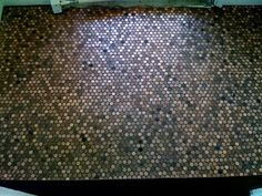 a penny saved.. is a tile floor