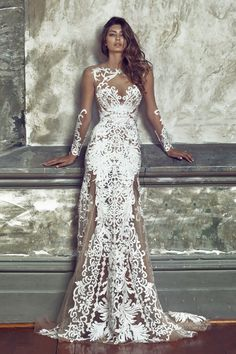 WedLuxe ??? Nektaria ??? Regal Bridal Collection | Follow @WedLuxe for more wedding inspiration! Regal Wedding Dress