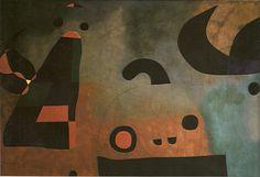 Pintura Mural : Barcelona (1950/51)  189 x 5,93m (total) - Museum of Modern Art, NY-USA (metade esquerda).