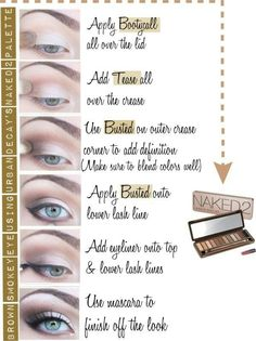 Look with Urban Decay Naked 2 Pallete- I'll have this one day! These are all my colors!!