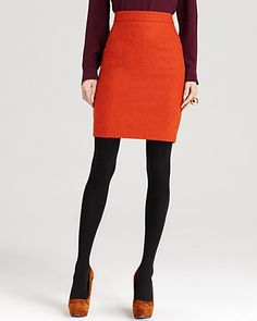you liked that orange skirt to go over a sweater/tan sweater in a picture my mom showed you. My mom will help.