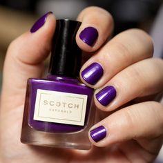 SCOTCH Natruals 'Queen of Scots' Nail Polish http://www.magi-mania.de/scotch-naturals-queen-of-scots-nagellack-der-nicht-stinkt/