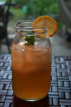 Southern Iced Tea Cocktail