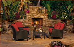 Outdoor Kitchens Fireplaces On Pinterest Eldorado