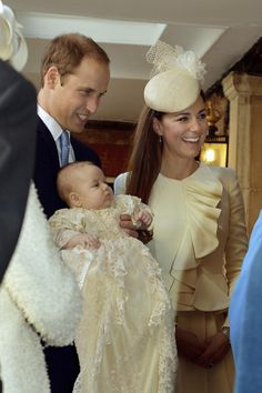 Prince George Is Christened In Royal Family Gown On October 23, 2013