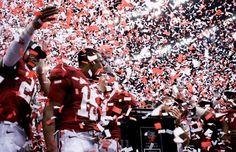 University of Alabama Crimson Tide Celebrates Winning the 2011 BCS National Championship (1/9/12)