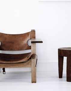Spanish Chair by Børge Mogensen.  I`m so lucky to have 2 of them.