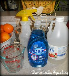 Domestically Speaking: Homemade Shower Cleaner