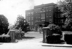 The original Holy Angels Convent, est 1887 in Jonesboro, AR...later became part of St. Bernard's hospital | www.facebook.com/cni.arkansas