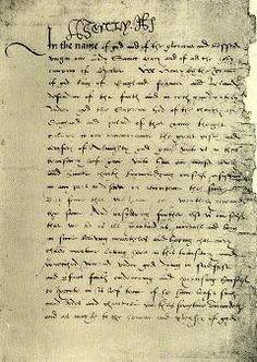 Will of Henry VIII.