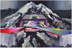 Disco Peak, by Ricky Allman - 20x200 (from $24)