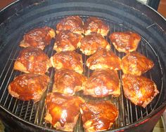 Smoked Chicken for dinner.