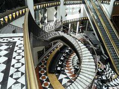 art deco mosaic gallery Berlin 3 by peterpeers, via Flickr