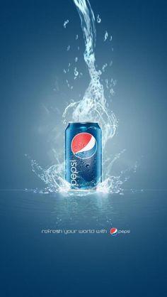 what she loves ....Pepsi