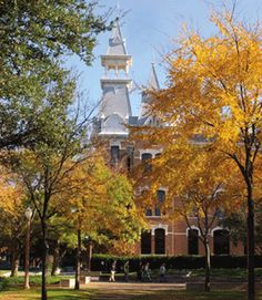 #Baylor University in the fall