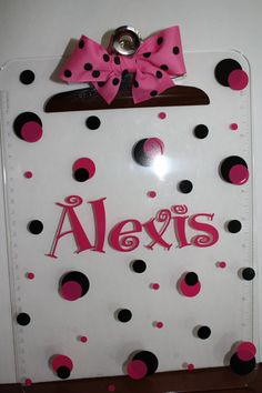 Personal Creations #Gifts  #Personalizedgifts Precious and fun Personalized Clipboards by Whozitandwhatzit, $15.00 - Great Personalized Gifts via- http://www.AmericasMall.com/personalcreations-gifts