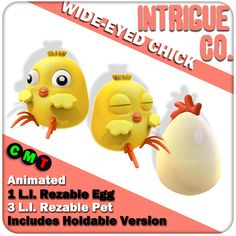 Intrigue Co. - Wide-Eyed Chick (12 Sept)
