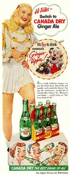 Canada Dry- A Canadian Favorite!