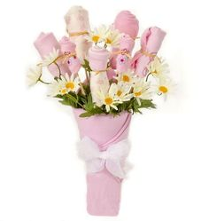 New Baby Girl Bouquet Gift