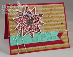 Create with Connie & Mary #315. Stampin' Up! Gorgeous Grunge & Bright & Beautiful. Debbie Henderson, Debbie's Designs.
