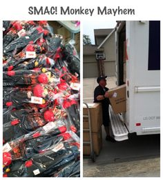 Wahoooo! All 1,000 SMAC! monkeys have arrived at my front door. Now, we work like mad to get these little guys mailed out.  Look out #cancer, NoMo &  Phoenix have officially been unleashed!!!!   (Need to order a SMAC!...here ya go: http://smacmonkey.com/) #SMACancer #beatcancer #endcancer #startup