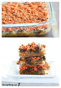 Magic Butterfinger Vegan Bars from @Marly Seeley | Namely Marly