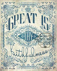 17.8.14  Great is thy faithfulness