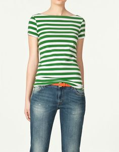 Green + stripes? Yes please.