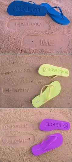 flip-flops! food
