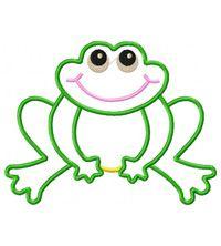 applique frog free