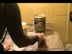 Removing Oil Based Paint on Wood  For easy removal of oil based paints without harsh solvents, caustics, or fumes try Home Strip Paint and Varnish Remover by EcoSolve Americas. Home Strip is a water based gel stripper that can be safely used indoors with minimal ventilation and no extensive protective equipment required.  Get it here... www.ecosolveamericas.com