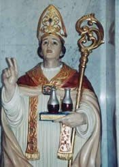 This is the story of San Gennaro and the Feast of San Gennaro. San Gennaro was born in Benevento to a rich patrician family in Benevento, Italy....