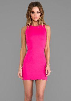 FOR LOVE & LEMONS x REVOLVE Rosarito Dress in Hot Pink at Revolve Clothing
